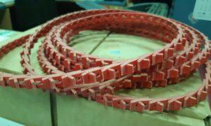 Цепной ремень для роторного рекуператора